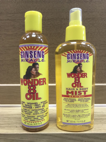 GINSENG MIRACLE WONDER 8 OIL / MIST
